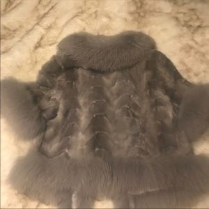 Real Mink/ Fox Fur Vest